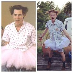 'A' Party for Annabel... Arlo as Ace Ventura
