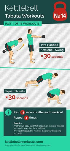 Very demanding kettlebell and bodyweight tabata workout that will improve your cardio and full body conditioning in minutes. #kettlebell #kettlebellworkout #fitness #tabata