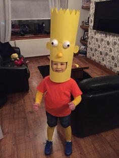 bart simpson halloween costume - Simpson Halloween Costume