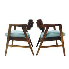 Gunlocke Chairs - Pair