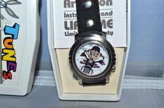 TAZMANIAN DEVIL 'BIKER DUDE' WATCH Quartz 1994 MIB Devil, Biker, Quartz, Watches, Accessories, Wristwatches, Clocks, Demons, Jewelry Accessories