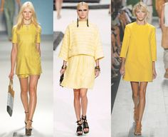 Spring 2011 tunics (Derek Lam, Chanel, Michael Kors)
