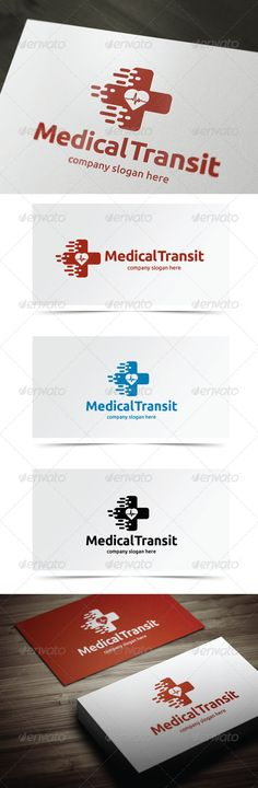 Medical Transit — Vector EPS #hospice #heartbeat • Available here → https://graphicriver.net/item/medical-transit/5638850?ref=pxcr