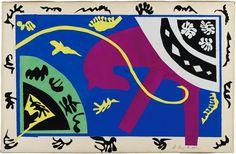 Henri Matisse   Le Cheval, l'écuyère et le clown (The Horse, the Rider, and the Clown), 1943-44, de la série: Jazz   V