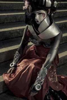 Steam Geisha Photo:  This Photo was uploaded by Cirrus_Maximilian. Find other Steam Geisha pictures and photos or upload your own with Photobucket free i...