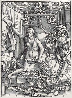 Hans Sebald Beham: Tod und Liebespaar (Death and the Lovers), 1522