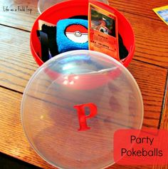 Party Pokeballs- birthday gifts or favors. This is the number one post on the website for the last three years!