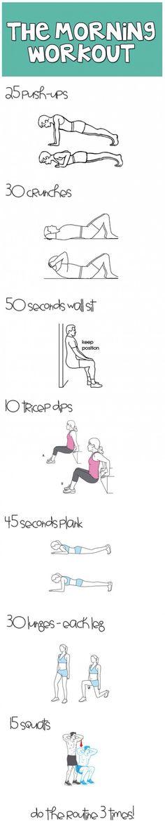 Work out die je thuis kunt doen