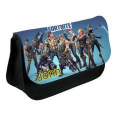 FORTNITE Personalised Pencil Case Battle Royale Game School Bag Kids Stationary #Unbranded School Equipment, Battle Royale Game, Kids Bags, School Bags, Stationary, Lunch Box, Pencil, Games, Ebay