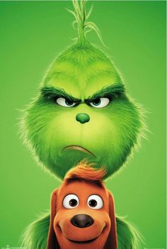 Seuss' The Grinch is returning to theatres voiced by Academy Award nominee Benedict Cumberbatch! Check out the just released The Grinch movie trailer! Watch The Grinch, The Grinch Movie, The Grinch Cartoon, Max From The Grinch, Mr Grinch, Grinch Stole Christmas, Grinch Party, Christmas Carol, Disney Wallpaper