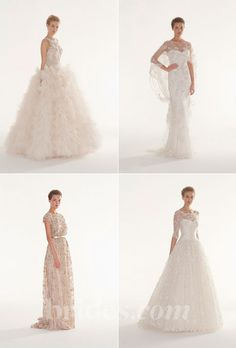 Brides.com: 2013 Wedding Dress Collections. Browse the 2013 wedding dress collection by Langner Couture