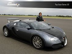 Top Gear, the Emmy award winning BBC television series about motor vehicles.