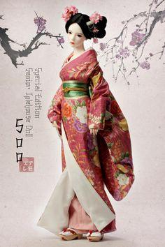Real Things for BJD: Iplehouse - Soo, Tokyo story Pretty Dolls, Cute Dolls, Beautiful Dolls, Ooak Dolls, Barbie Dolls, Furisode Kimono, Chinese Dolls, Geisha Art, Art Asiatique