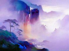 Artist Hong Leung - China Landscapes http://www.genesisgalleryhawaii.com/HongLeung.htm