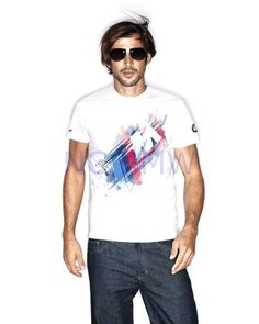 c283da8b944 BMW Genuine Logo OEM Factory Men s Motorsport Tee T-shirt   White M Medium