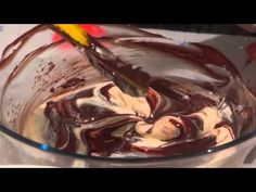 MOUSSE de CHOCOLATE AERADO - YouTube