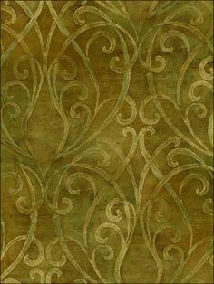 Powder Room - wallpaperstogo.com WTG-072473 Sandpiper Studios Traditional Wallpaper
