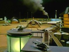 The fun little spaceport they shoot into space from