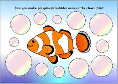A set of printable playdough mats linked to the ocean. Children can make playdough starfish, bubbles, legs for the octopus, teeth for the shark and more! The Ocean, Ocean Life, Preschool Crafts, Crafts For Kids, Octonauts Party, Sea Activities, Under The Sea Theme, Play Therapy, Speech Therapy