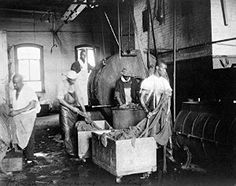 Amazon.com: 1895 Old Photograph of Black Laundry Workers ...