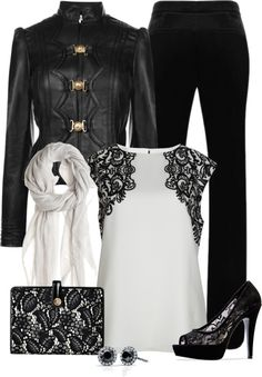 """""""Day and Night"""" by chelseagirlfashion on Polyvore"""