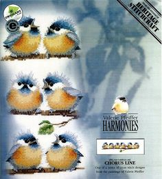 Graficos de aves en punto de cruz | Solountip.com