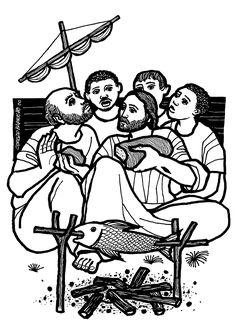 Evangelio según san Juan (21,1-19), del domingo, 10 de abril de 2016