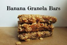 These Banana Granola Bars Make the Perfect Health Breakfast or Snack [Vegan] | One Green Planet