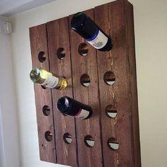 Easy to do hanging wine storage