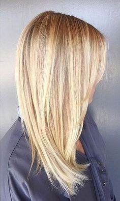 Loving this toned 'down' beige blonde shade – it still definitely qualifies in the light blonde category but the added beige highlights are perfect for the fall and winter transit…