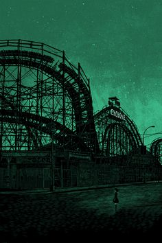 And this one links to the artist's page too. Check it out. Some awesome stuff there. Only put this in places, cause its Coney Island.
