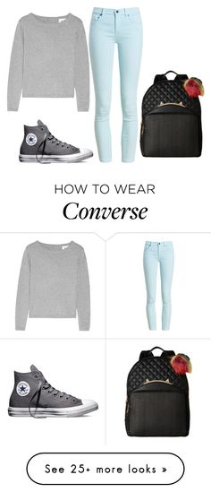 """Untitled #354"" by luka1207 on Polyvore featuring Banjo & Matilda, Barbour, Converse and Betsey Johnson"