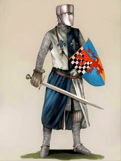 J.Lazarus. French Knight, XII century.
