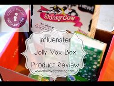 Influenster Jolly Vox Box Unboxing + Detailed Product Review (+playlist)