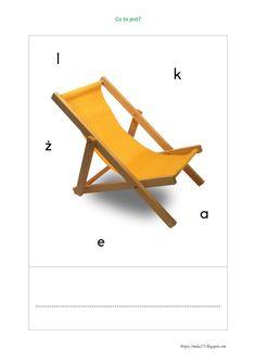 BLOG EDUKACYJNY DLA DZIECI Wheelbarrow, Folding Chair, Accent Chairs, Internet, Blog, Furniture, Home Decor, Upholstered Chairs, Decoration Home