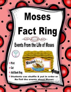 Bible Fun For Kids: 12 Questions: Memphis Ministry Day 1 Moses