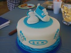With Fondant Baby Nike Shoes, this Baby Shower Cake Stole the Show