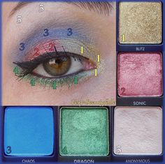 Make-Up with Urban Decay (Vice Palettes 1 & 3)