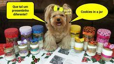 Vicky Nina e Cookies in a jar  Presentinhos de natal  gifts #cookiesinajar #vickynina #gifts