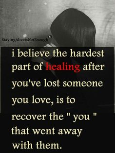 This is so true and it even applies to when a loved one goes through a major accident. People forget Even though their loved one made it through, there are still scars of All kinds that their loved ones must go through and heal. Especially a Mom❤