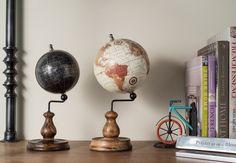 Stationery & Bookends, Desktop Globe ★ Creative Co-Op Home