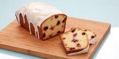 Glazed Blueberry Lemon Loaf, Recipe by Anna Olson Lemon Blueberry Loaf, Lemon Loaf, Blueberry Recipes, Bake Sale Recipes, Loaf Recipes, Bakery Recipes, New Dessert Recipe, Dessert Bread, Dessert Recipes