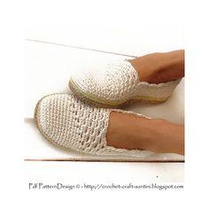 Ravelry: Slanting Line Espadrillas/Toms Basic Slippers pattern by Ingunn Santini