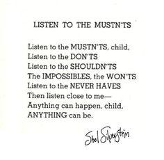 My favorite Shel Silverstein quote