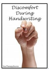 Discomfort During Handwriting-pinned by @PediaStaff – Please Visit ht.ly/63sNtfor all our pediatric therapy pins