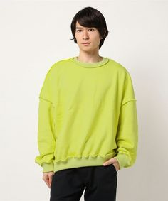 Jieda 【PULP】JIEDA / ジエダ C/N SWEAT SHIRT Sweatshirts, Sweaters, How To Wear, Fashion, Moda, Fashion Styles, Pullover, Sweatshirt, Sweater