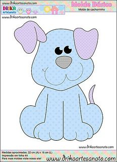 Adorable puppy ~ Use similar for applique, embroidery, or ?
