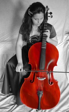 SH Productions Photography, Shadow Meienberg. Title: Girl with a Cello.