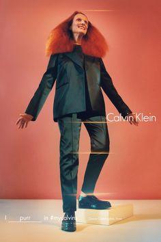 Calvin Klein escala Kate Moss, Grace Coddington e mais fashionistas para nova campanha