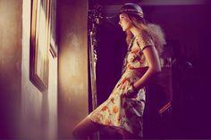 Gypsy Bohemian Hippy - boho - ☮k☮ Fashion Mag, Editorial Fashion, Fashion Online, Bohemian Gypsy, Bohemian Style, Boho Chic, Hippie Chic, Guy Aroch, Cutout Dress